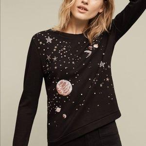 Anthropologie Postcard Brand Stargazer Pullover